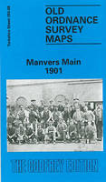 Manvers Main 1901: Yorkshire Sheet 283.08 - Old O.S. Maps of Yorkshire (Sheet map, folded)