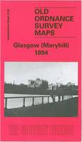 Maryhill 1894: Lanarkshire Sheet 6.02 - Old O.S. Maps of Glasgow (Sheet map, folded)