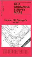 Hulme: St.George's 1849: Manchester Sheet 37 - Old Ordnance Survey Maps of Manchester (Sheet map, folded)