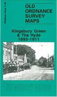 Kingsbury Green and the Hyde1895-1911: Middlesex Sheet  11.06 - Old O.S. Maps of Middlesex (Sheet map, folded)