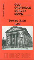 Burnley (East) 1909: Lancashire Sheet 64.03 - Old O.S. Maps of Lancashire (Sheet map, folded)