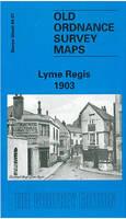 Lyme Regis 1903: Devon Sheet 84.07 - Old O.S. Maps of Devon (Sheet map, folded)