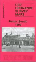 Derby (South) 1899: Derbyshire Sheet 50.13 - Old O.S. Maps of Derbyshire (Sheet map, folded)