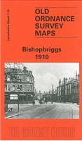 Bishopbriggs 1910: Lanarkshire Sheet 1.15 - Old O.S. Maps of Lanarkshire (Sheet map, folded)