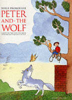 Peter and the Wolf: Children's Book with Easy Piano Pieces (Paperback)
