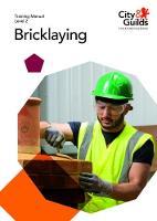 Level 2 Bricklaying: Training Manual (Paperback)