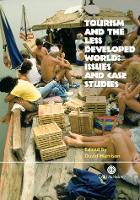 Tourism and the Less Developed World: Issues and Case Studies (Paperback)