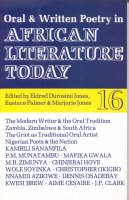 ALT 16 Oral and Written Poetry in African Literature Today (Paperback)