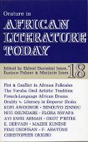 ALT 18 Orature in African Literature Today (Paperback)