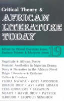 ALT 19 Critical Theory and African Literature Today (Paperback)