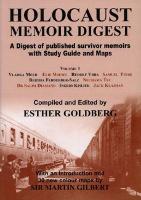 Holocaust Memoir Digest: Volume 1 (Paperback)