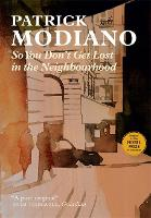 So You Don't Get Lost in the Neighbourhood (Paperback)