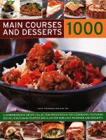 1000 Main Courses & Desserts: A complete set of two volumes containing 500 delicious main courses together with 500 fabulous puddings and desserts (Hardback)