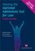 Passing the National Admissions Test for Law (LNAT) - Student Guides to University Entrance Series (Paperback)