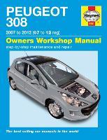 Peugeot 308 Petrol & Diesel 07 - 12 (07 To 12) (Hardback)