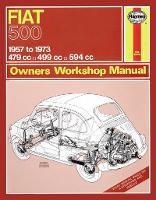 Fiat 500 Owner's Workshop Manual (Paperback)
