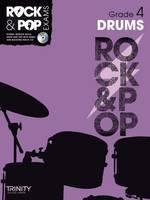 Drums (Grade 4) - Trinity Rock & Pop (Sheet music)