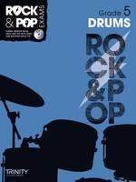 Drums (Grade 5) - Trinity Rock & Pop (Sheet music)