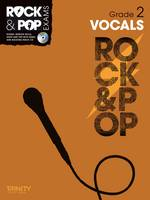 Vocals (Grade 2) - Trinity Rock & Pop (Sheet music)