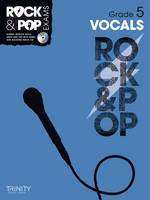 Vocals (Grade 5) - Trinity Rock & Pop (Sheet music)