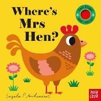 Where's Mrs Hen? - Felt Flaps (Board book)