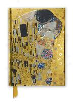 Gustav Klimt: The Kiss (Foiled Journal)