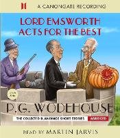 Lord Emsworth Acts for the Best (CD-Audio)