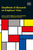 Handbook of Research on Employee Voice - Research Handbooks in Business and Management series (Hardback)