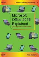Microsoft Office 2016 Explained