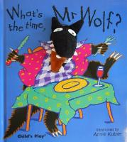 What's the Time, Mr Wolf? - Finger Puppet Books (Hardback)