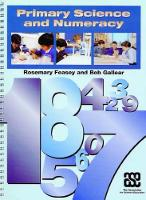 Primary Science and Numeracy (Paperback)