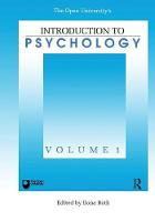 Introduction To Psychology: Vol 1 (Paperback)