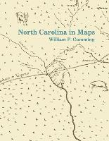 North Carolina in Maps (Paperback)