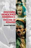 Assessing Democracy Assistance: The Case of Romania (Paperback)