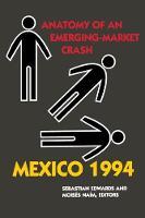 Mexico 1994: Anatomy of an Emerging-Market Crash (Paperback)