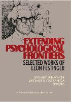 Extending Psychological Frontiers: Selected Works (Hardback)