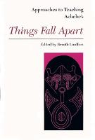 Approaches to Teaching Achebe's Things Fall Apart (Paperback)