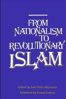 From Nationalism to Revolutionary Islam (Paperback)