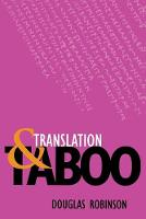 Translation and Taboo (Paperback)