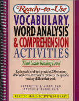 Ready-to-Use Vocabulary Word Analysis & Comprehension Activities: Third Grade Reading Level (Spiral bound)