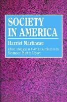 Society in America - Social Science Classics (Paperback)