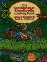Reptalphabet Encyclopedia Coloring Book