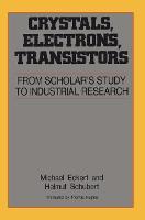 Crystals, Electrons, Transistors (Paperback)