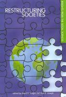 Restructuring Societies: Insights from the Social Sciences (Paperback)