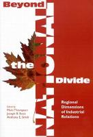 Beyond the National Divide: Regional Differences in Industrial Relations - Queen's Policy Studies Series (Paperback)