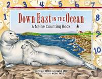 Down East in the Ocean: A Maine Counting Book (Hardback)