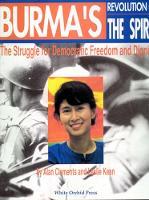 Burmas Revolution Of The Spirit (Hardback)