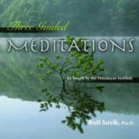 Three Guided Meditations: As Taught by the Himalayan Institute (CD-Audio)