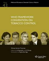 Who Framework Convention on Tobacco Control (Paperback)