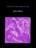 Studies in Renaissance Art (Hardback)